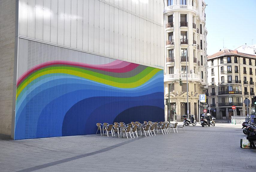 Jan Kaláb mural at Mercado Barceló