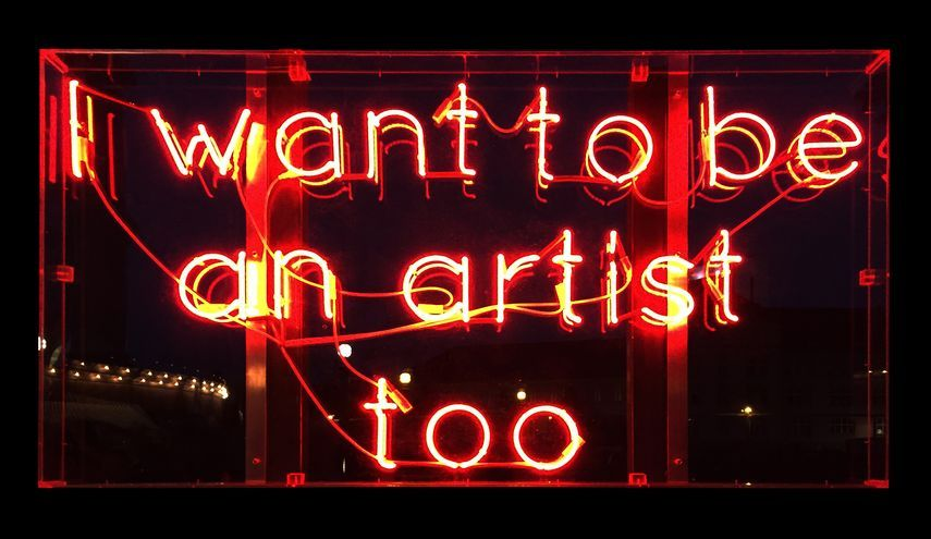 Jan Kuck - I want to be an artist too