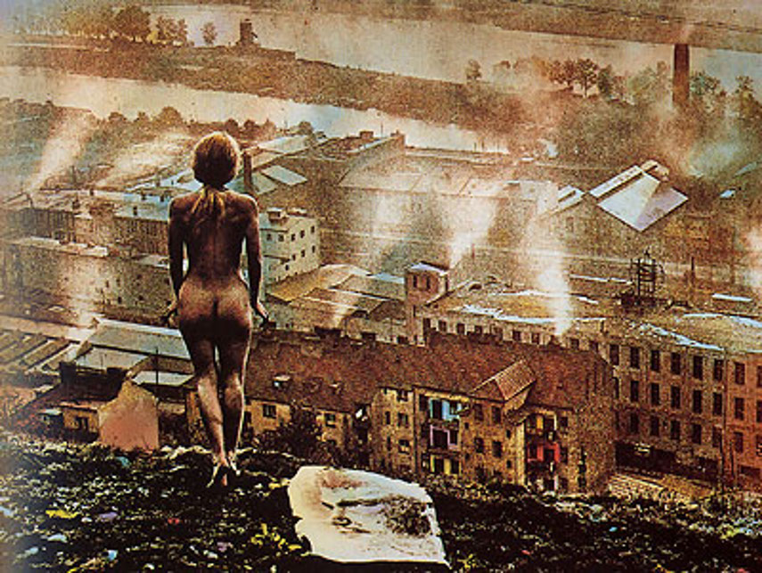 Jan Saudek - English title Dawn No. 1 (1959), image via saudekDOTcom