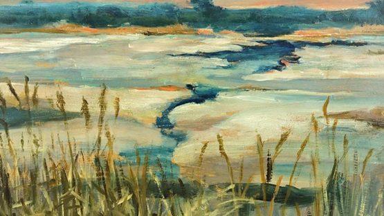 Jan Stanislawski - Winter Landscape (detail)