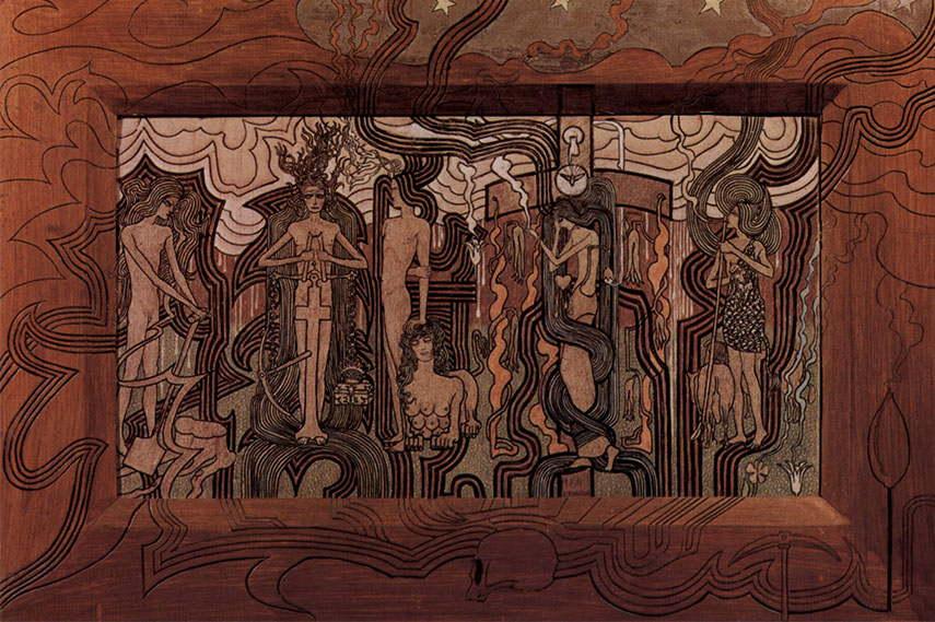 Jan Toorop symbolist poster works 1900