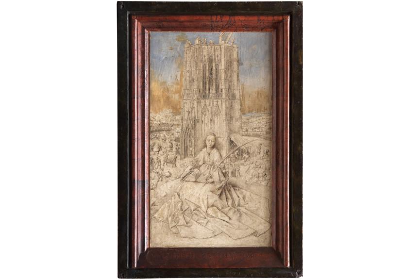 Jan van Eyck - Heilige Barbara