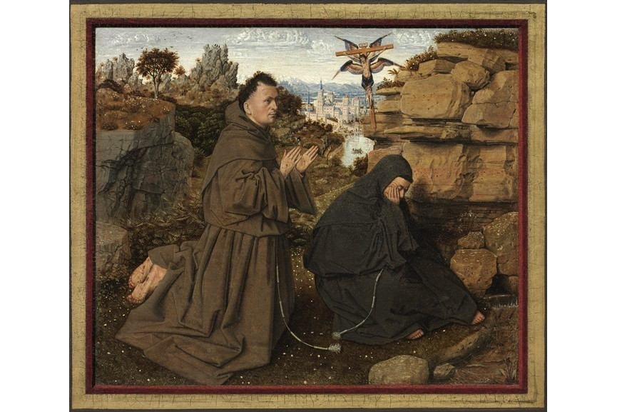 Jan van Eyck - Heilige Franciscus