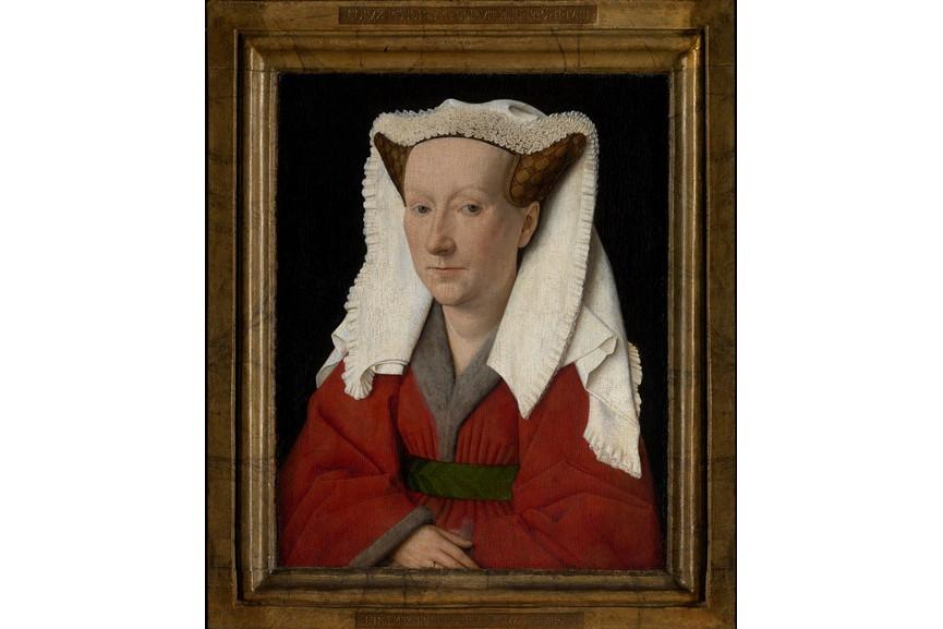 Jan van Eyck - Portrait of Margareta van Eyck