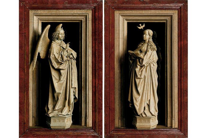 Jan van Eyck - The Annunciation Diptych