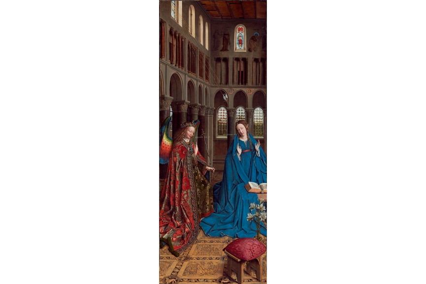 Jan van Eyck - The Annunciation