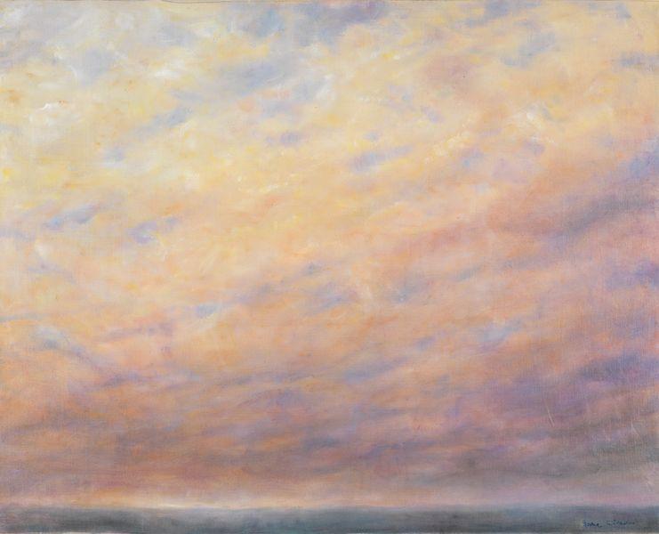 Jane Wilson - Night Fall, Montauk, 1990-91