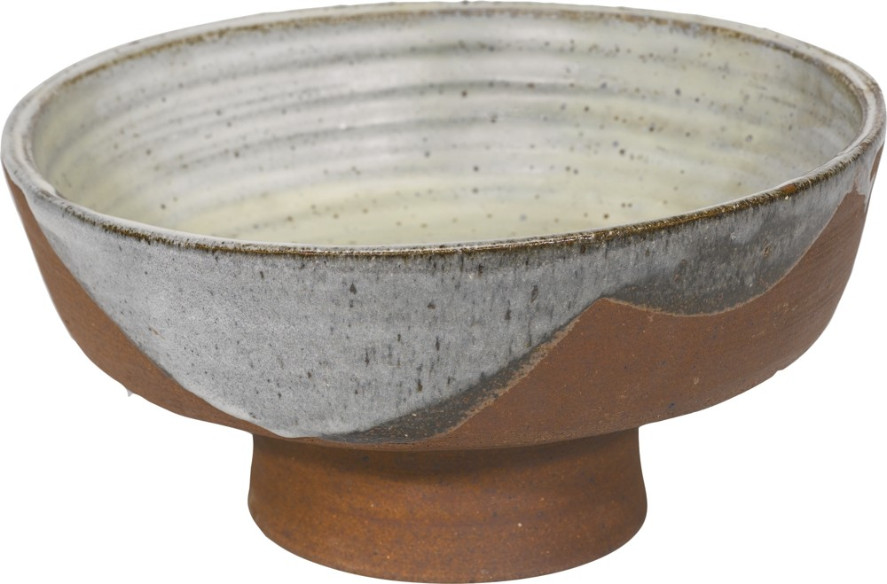 Janet Leach-A Large Bowl On A Raised Foot-