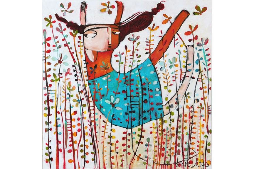 Janine Daddo - Fly Through The Flowers