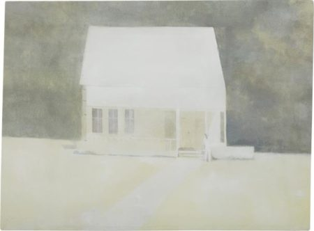 Janis Avotins-The First Day (House With Man) 362-2004