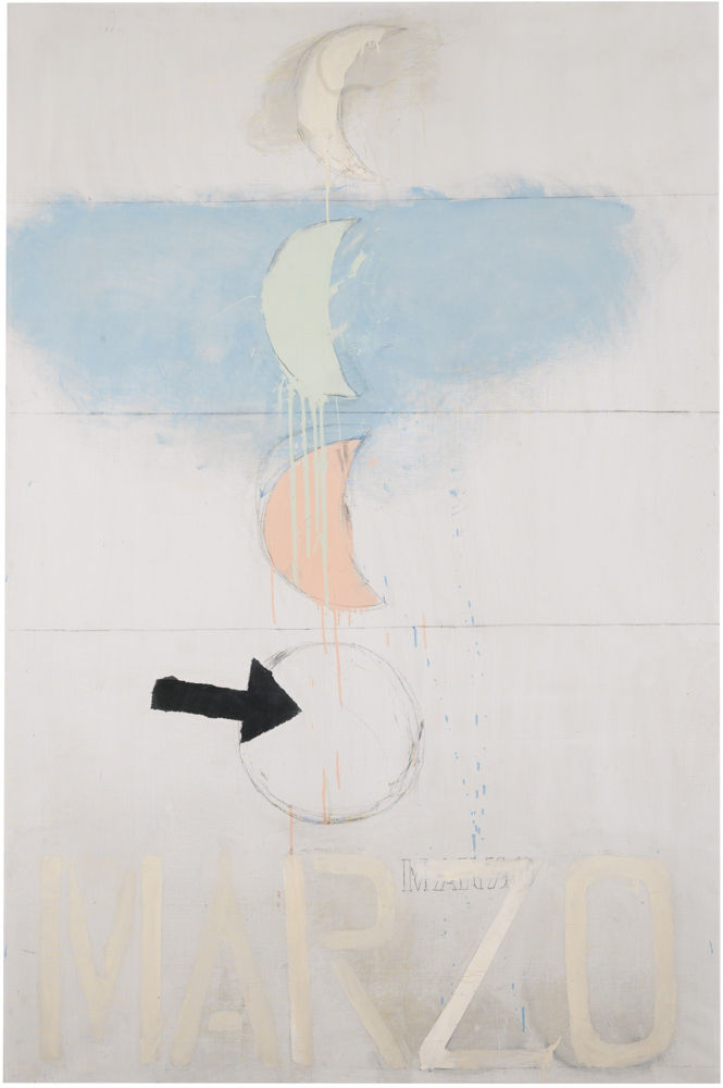 Jannis Kounellis-Marzo-1963