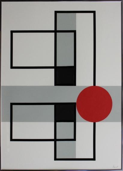Jansi-Geometric Composition-