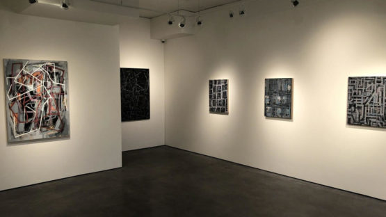 Jasmine Wallace - installation view at Z Gallery Arts