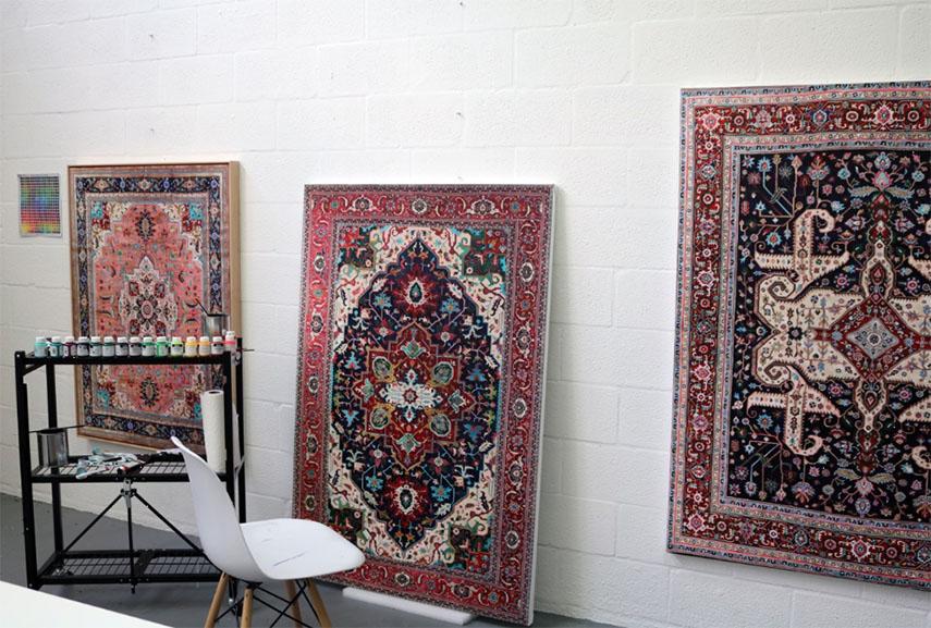 Jason Seife artworks in the Studio