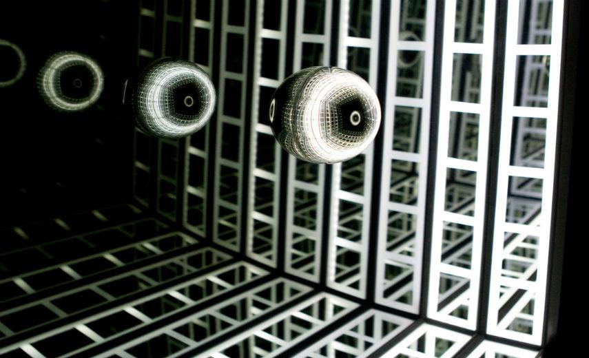 Jason Sims - Reflect II (detail), 2011.