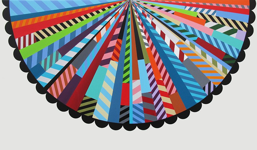 Jason Woodside - Pinwheel Pie, 2014 (1)