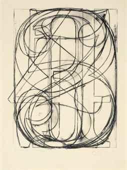 Jasper Johns-0 Through 9-1960