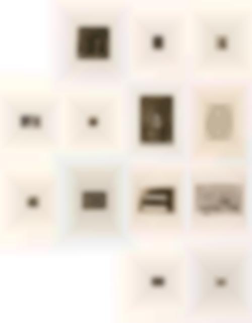Jasper Johns-1st Etchings, 2nd State (13)-