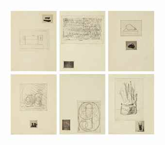 Jasper Johns-1st Etchings-1969