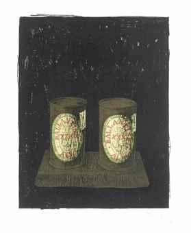 Jasper Johns-Ale Cans-1964