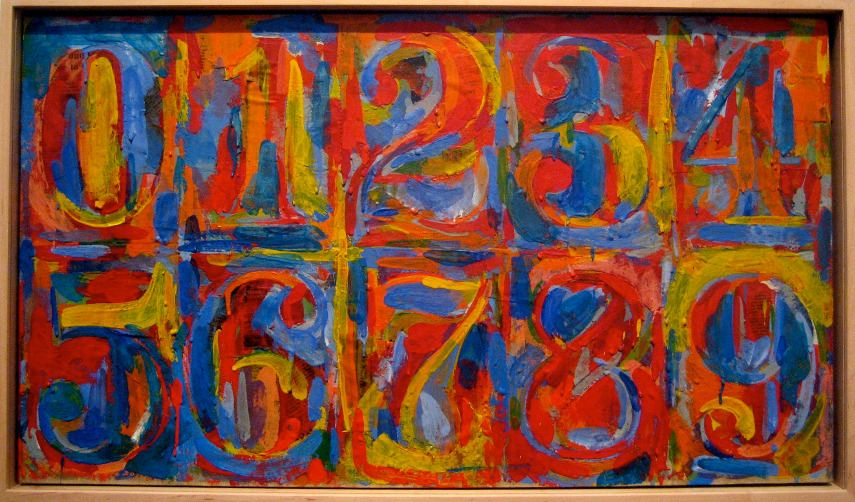Jasper Johns - Alphabet, 19591 - Image via jasper-johnsorg flags flags