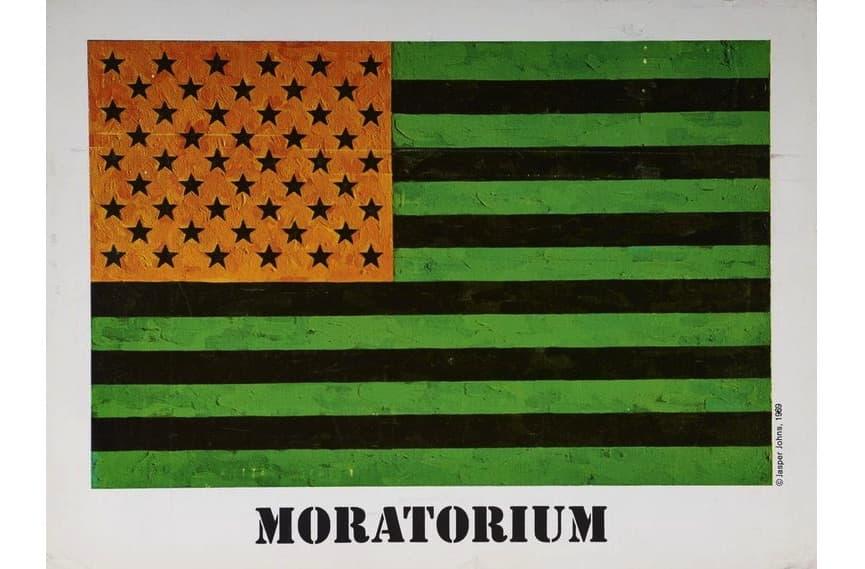 Jasper Johns - Art for the Moratorium, 1969