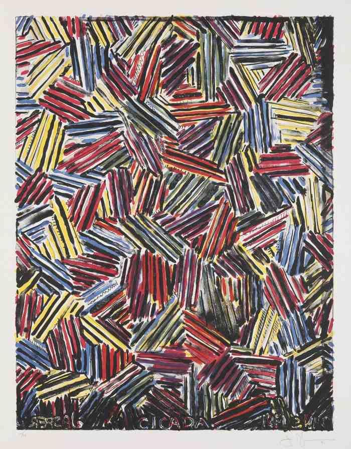 Jasper Johns-Cicada-1981