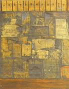 Jasper Johns-Untitled (Construction with toy piano)-1954