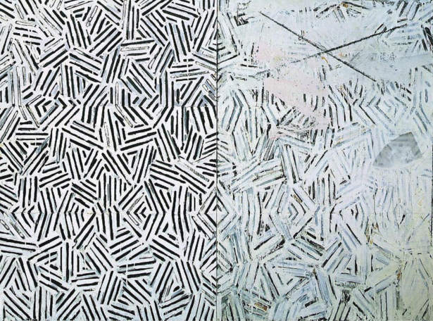Jasper Johns-Corpse and Mirror-1974