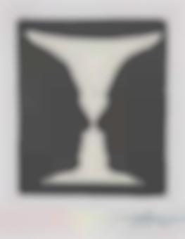Jasper Johns-Cup 2 Picasso-1973