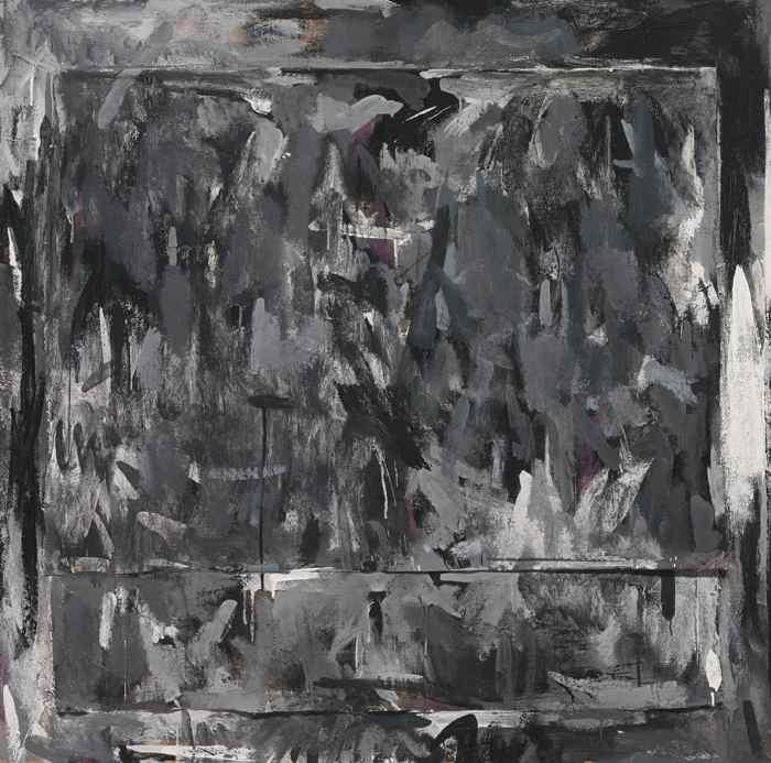Jasper Johns-Disappearance I-1960