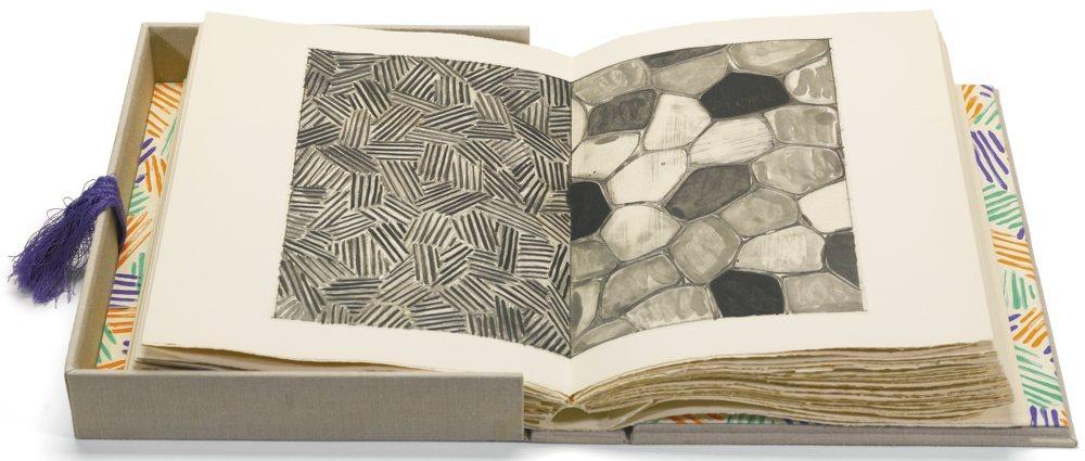 Jasper Johns-Foirades/Fizzles-1976