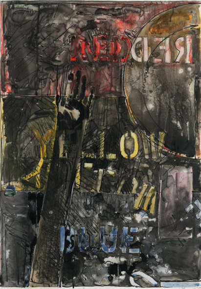Jasper Johns-Land's End-1977