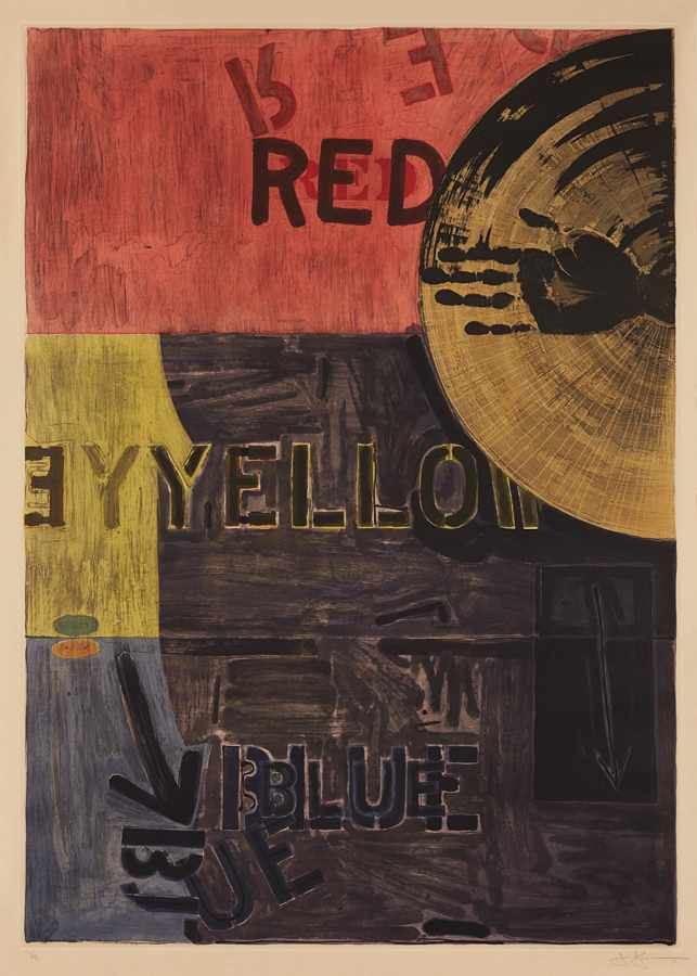 Jasper Johns-Periscope-1981
