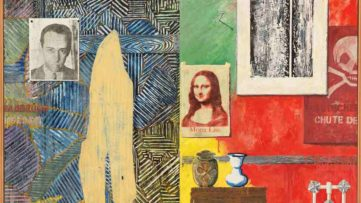 Jasper Johns - Racing Thoughts