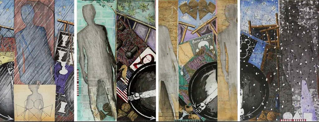 Jasper Johns - Seasons, 1987