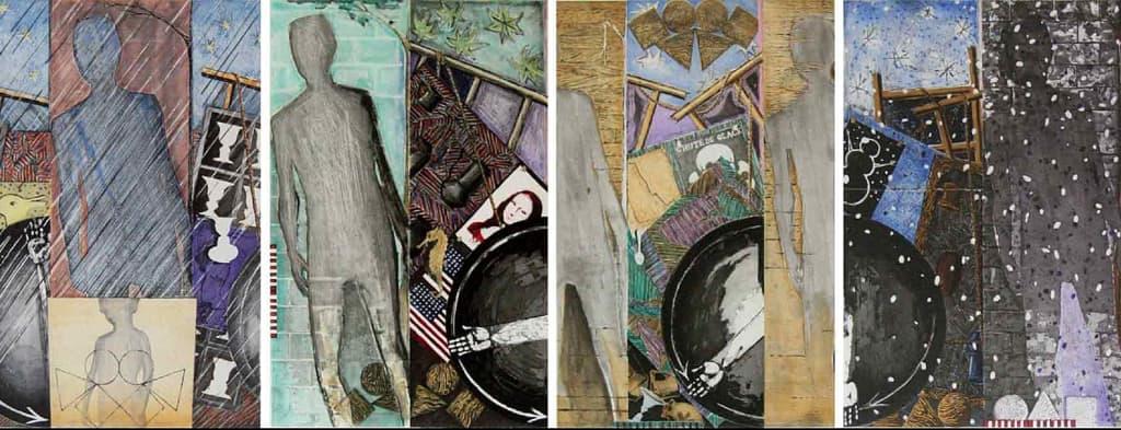 Jasper Johns - Seasons, 1987