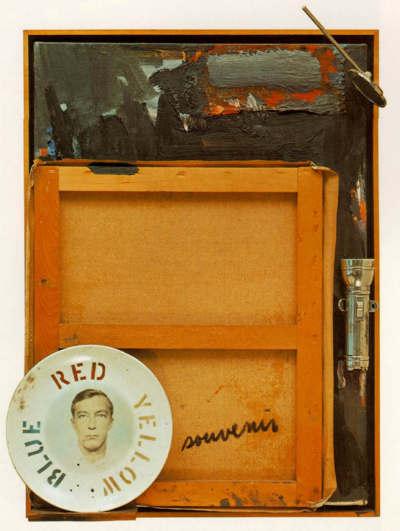 Jasper Johns-Souvenir 2-1964