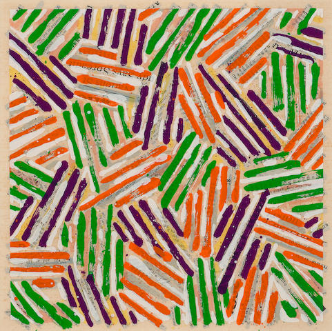 Jasper Johns-Untitled (ULAE Suppl.13)-1977