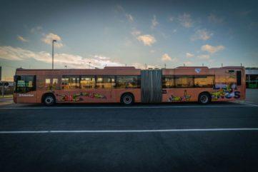 Stavanger Gets a Street Art Bus, Courtesy Nuart and Jaune!