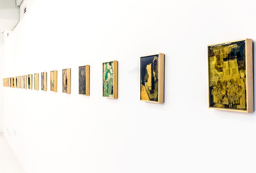 Jazoo Yang, Installation view at Gallery Boaninn, Seoul, 2017