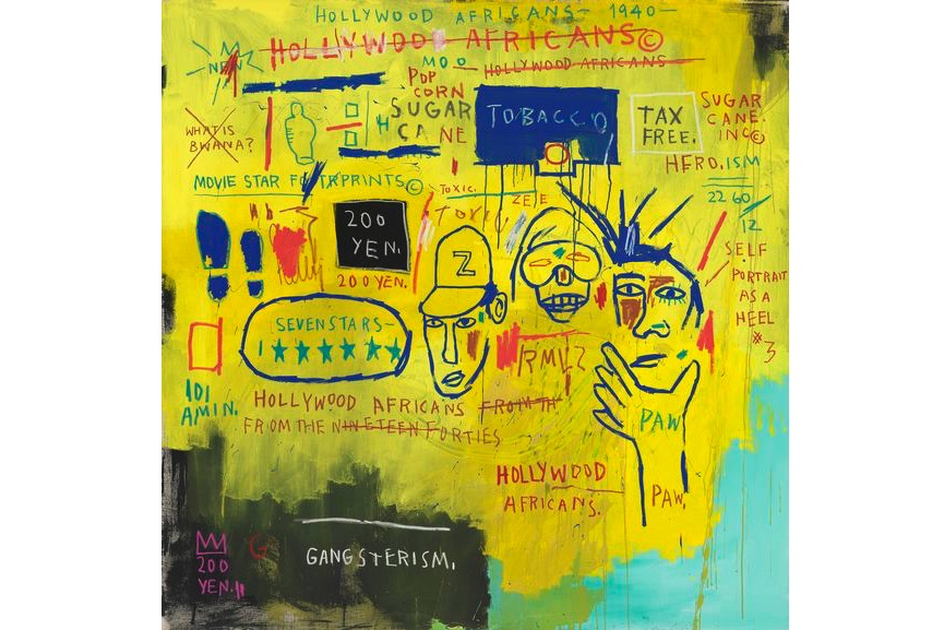 Jean‑Michel Basquiat - Hollywood Africans, 1983