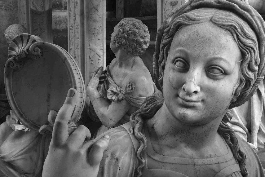 Jean-Christophe Ballot - La prudence, une des quatre vertus cardinales, tombeau de Louis XII et d'Anne de Bretagne, 2014