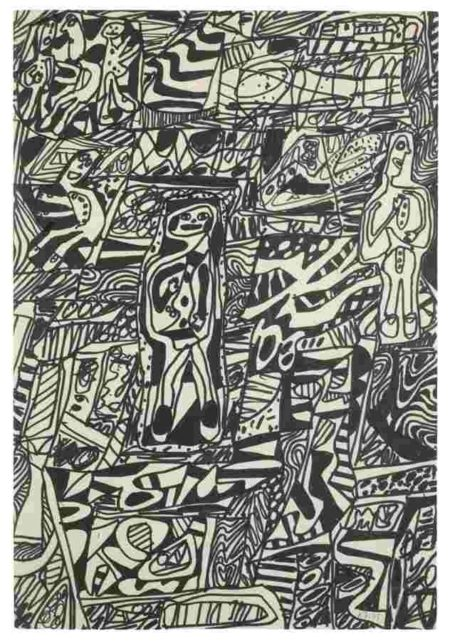 Jean Dubuffet-Annale Vi-1978