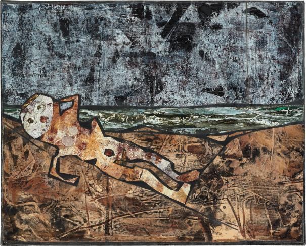 Jean Dubuffet-Bain de Soleil-1956