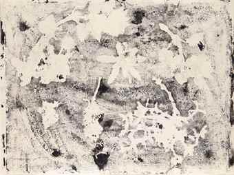Jean Dubuffet-Botanique (Empreinte IX)-1957