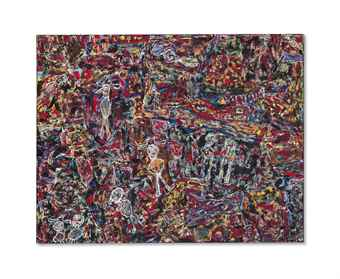 Jean Dubuffet-Cote Chipote-1961