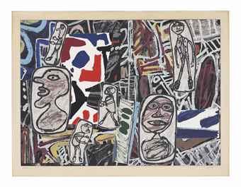 Jean Dubuffet-Faits Memorables I-1978