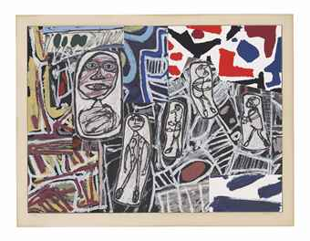 Jean Dubuffet-Faits Memorables II-1978
