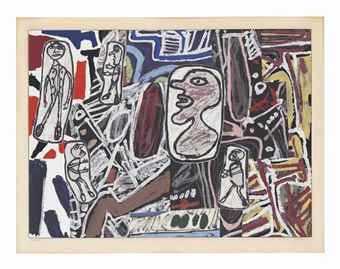 Jean Dubuffet-Faits Memorables III-1978